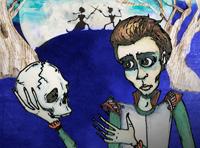 Hamlet litli í Borgarleikhúsinu