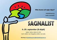 Sagnalist – námskeið hjá Halaleikhópnum